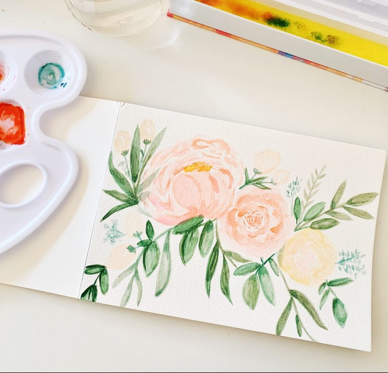 watercolor painting to cure boredom