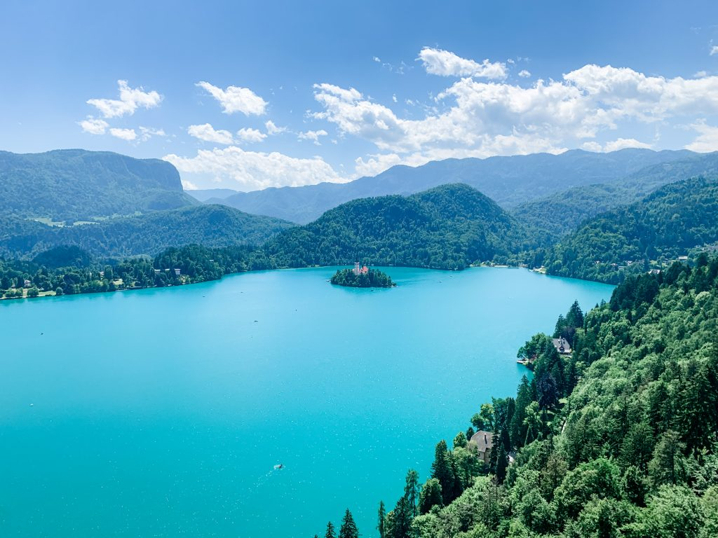 View from Bled Castle 1024x768 - Lake Bled, Slovenia