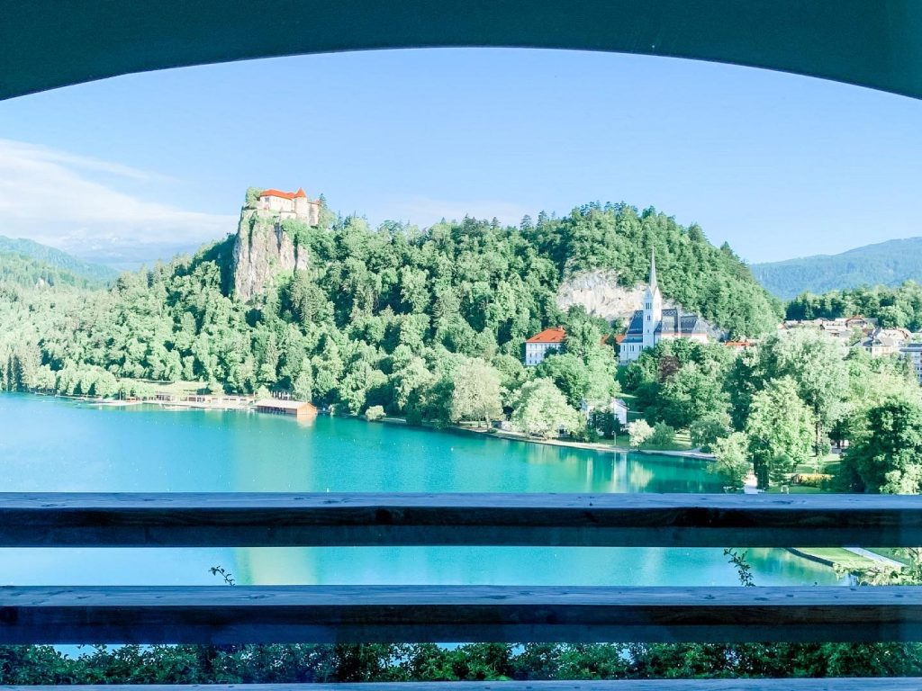 View from Hotel Bled 1024x768 - Lake Bled, Slovenia