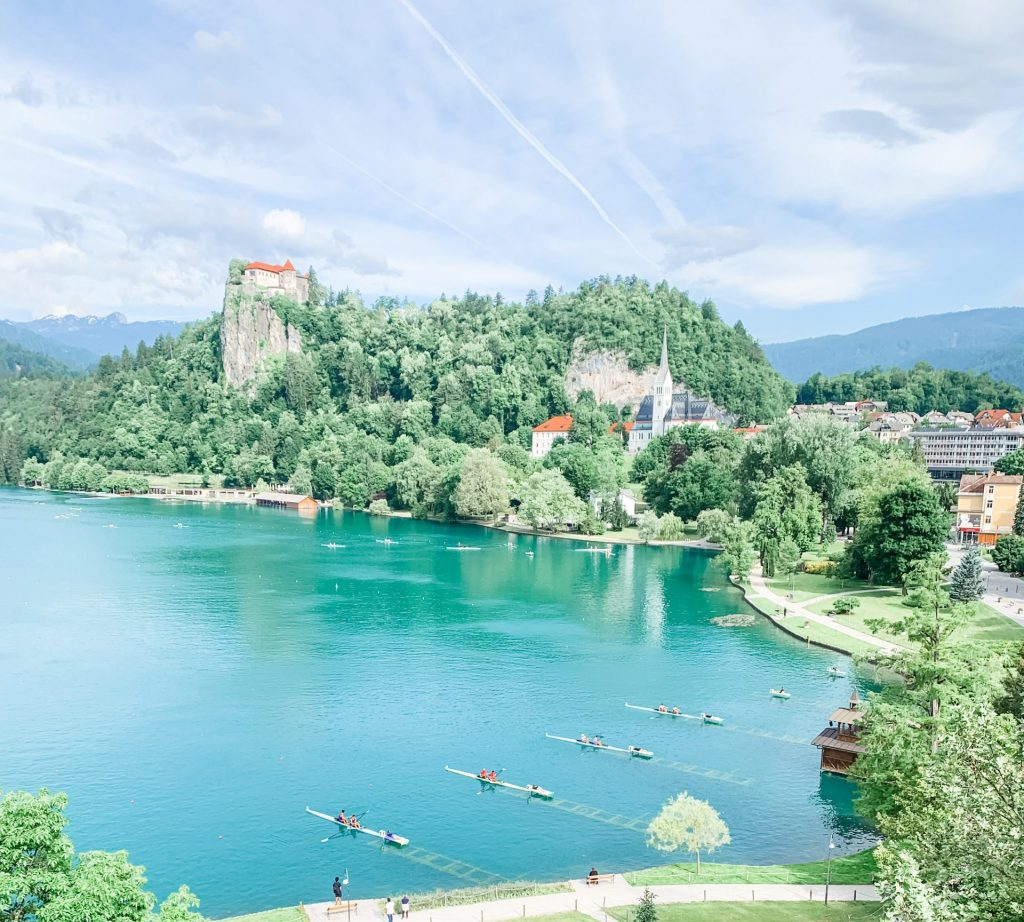 View of Bled Castle 2 scaled e1624479906872 1024x922 - Lake Bled, Slovenia