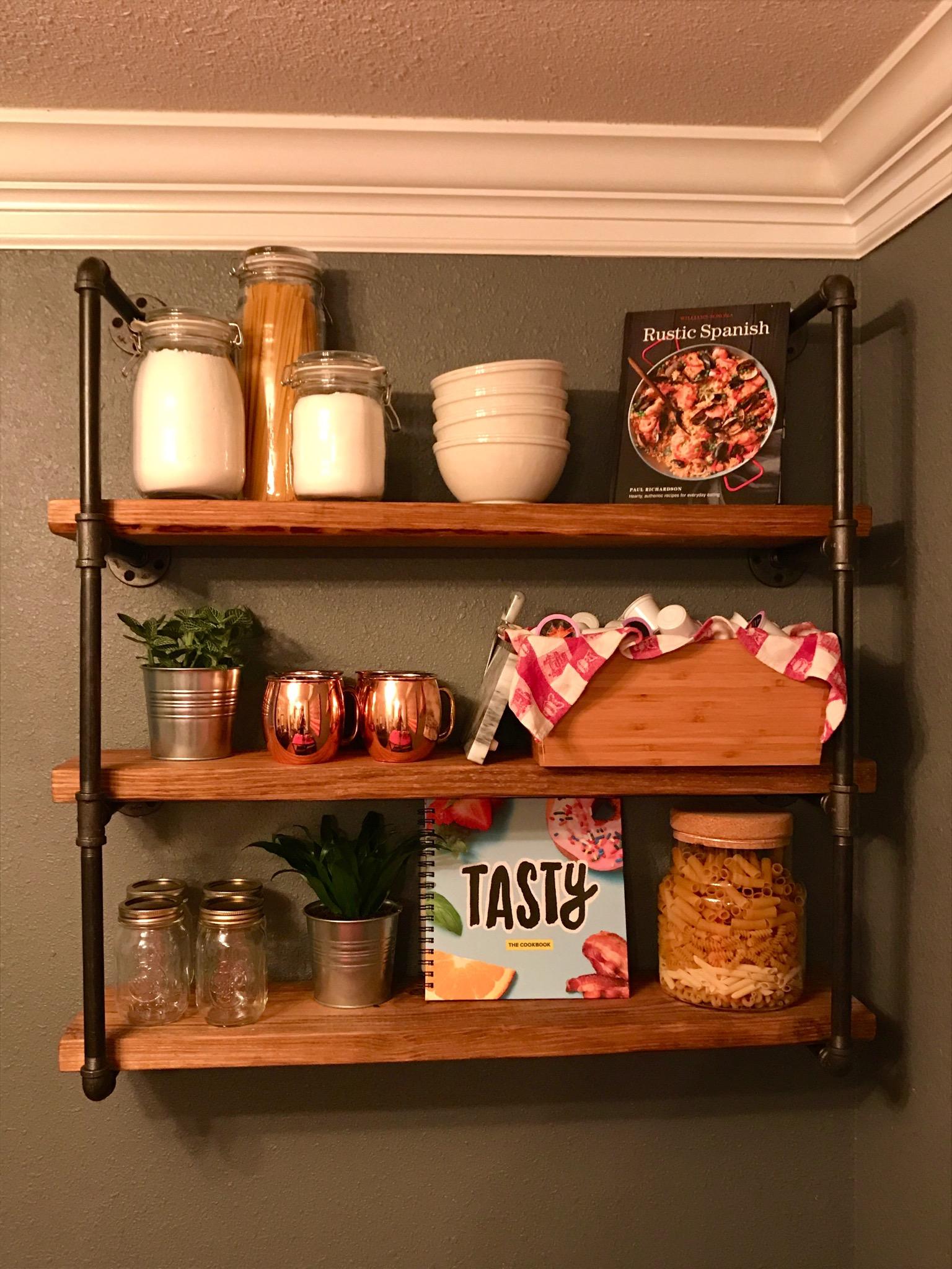Weekend Project – Kitchen Storage